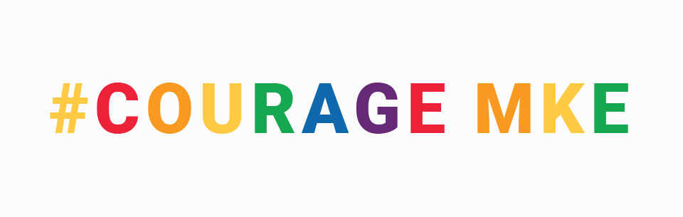 Courage also didn't have a set typography set. I used Roboto because of it's dual nature. It has a mechanical skeleton and the forms are largely geometric. At the same time, the font features friendly and open curves. While some grotesks distort their letterforms to force a rigid rhythm, Roboto doesn't compromise, allowing letters to be settled into their natural width. This makes for a more natural reading rhythm more commonly found in humanist and serif types.