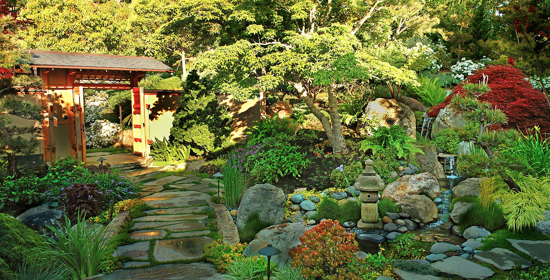 Private Garden Courtyard, Marin County, California