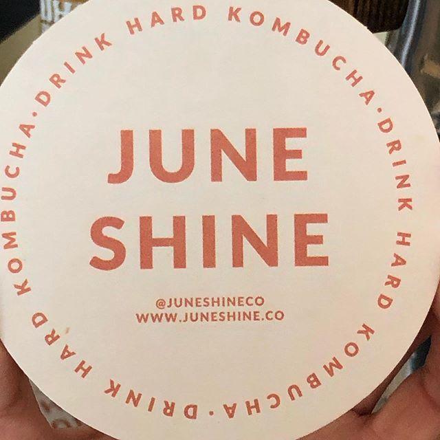 Go Hard.  #nowontap #juneshinekombucha #refreshingaf #summerlibations #blackhoggsandwiches #haveyouhadabettersandwich
