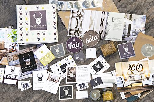Branding: Marty Mason Collected Home, Atlanta, GA