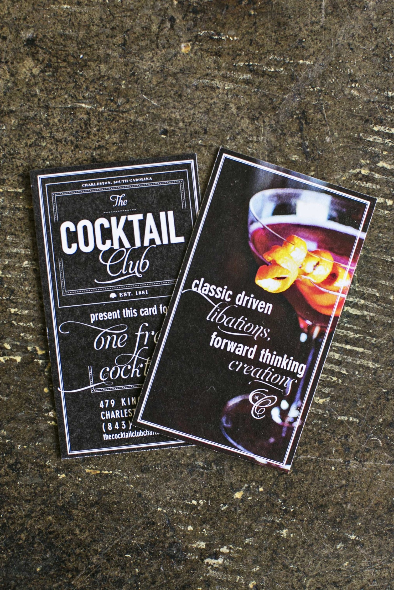 Event: The Cocktail Club, Charleston, SC