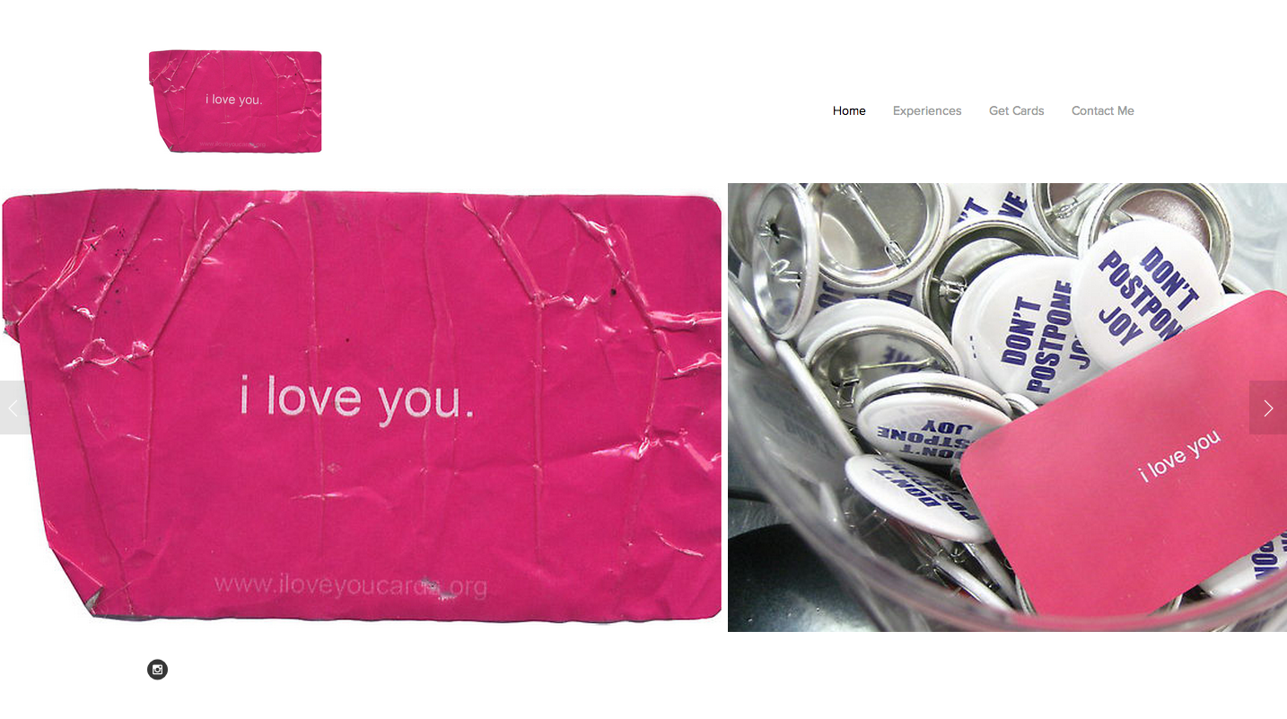Website Design: I Love You Cards, Atlanta, GA