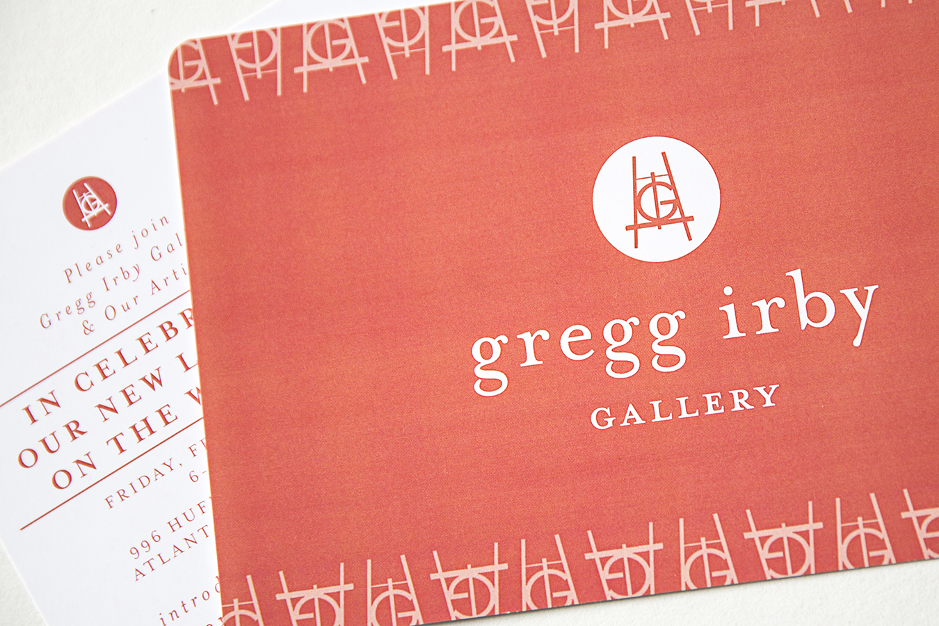 Branding: Gregg Irby Gallery, Atlanta, GA
