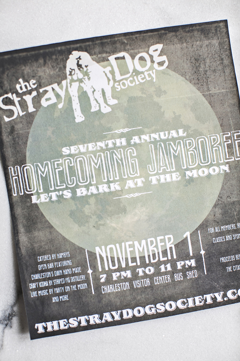 Event: The Stray Dog Society, Charleston, SC