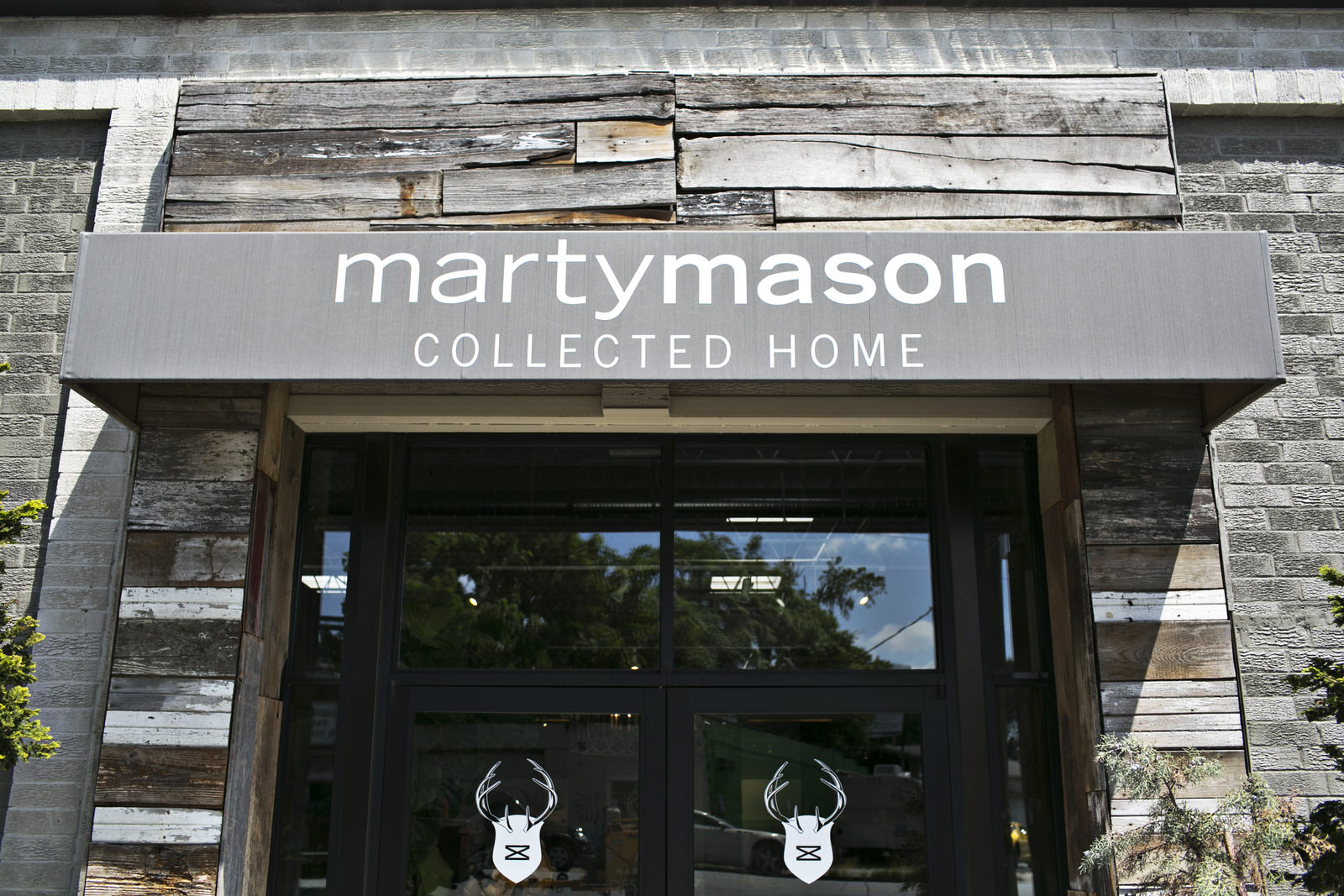 Marty Mason Collected Home store front