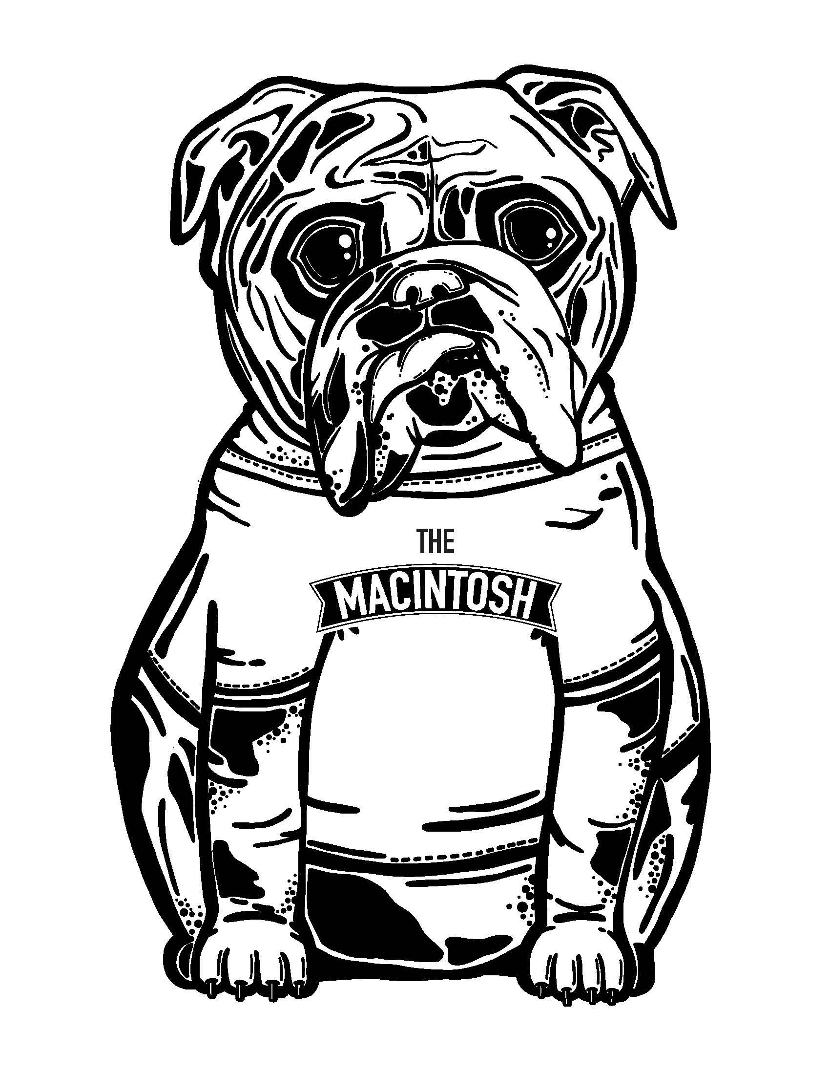 The Macintosh, t-shirt