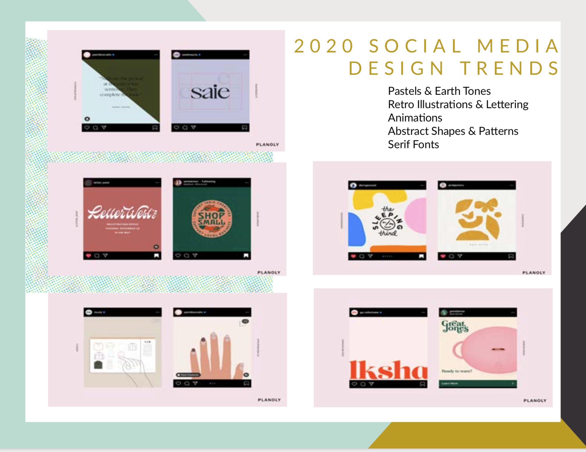 Top Social Media Design Trends 2020 Treebird Branding