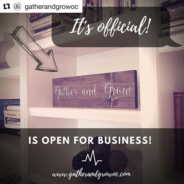 So excited this is happening today!!! 💜💜💜 #Repost @gatherandgrowoc with @get_repost ・・・ It's official! We're open for business! Much gratitude to @mrs_alisonbradley for the (beyond perfection) sign in our lobby!  Thank you so much for all that believed in and put good energy into this space. We couldn't have done it without the help of our partners, family, friends, community and existing clients! We want you to know this space is for all of us!  View our therapists and reach out for an appointment. Link in bio☝️ 💖✨💖✨💖 #mentalhealth #clients #mentalhealthawareness #courage #vulnerability #support #reachout #therapy #counseling #orangecounty #fullerton #brea #anaheim #santaana #openforbusiness #itsofficial #community #family #friends #partners #gratitude #goodenergy