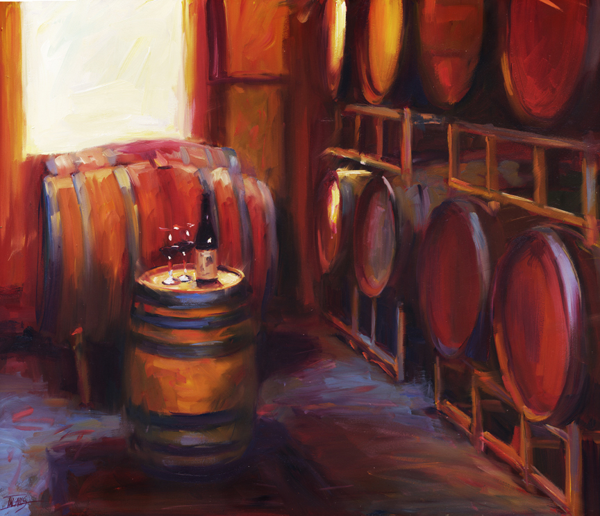 Pam Ingalls_Over a Barrel_ 16x20_3000.jpg