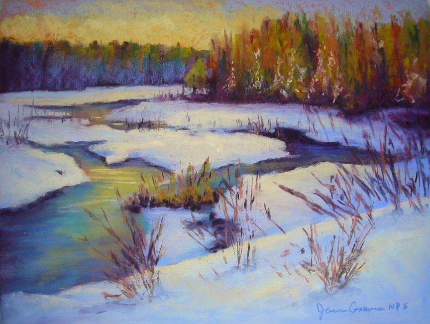 janisgraves.spring thaw.11x14.pastel.jpg