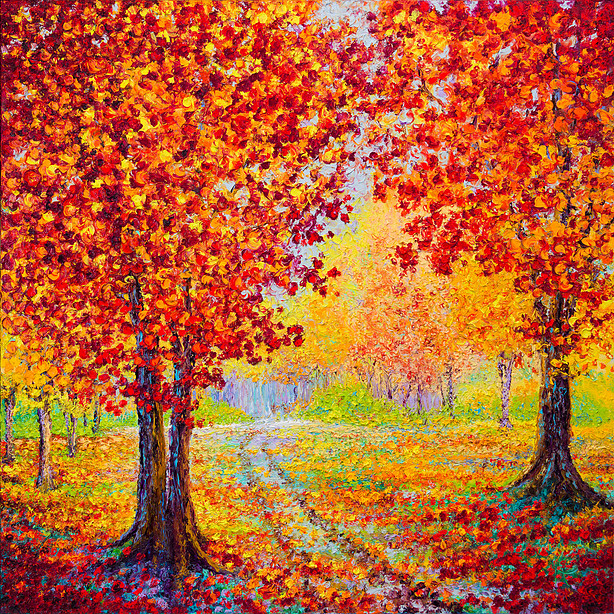 Kimberly Adams_Country Road in Autumn_36x36_3100.jpg