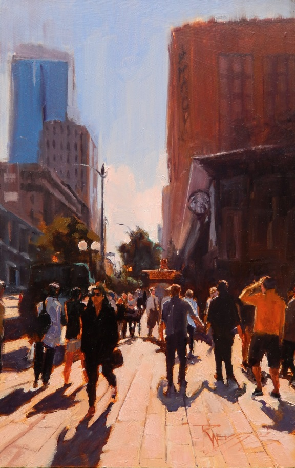 Robin Weiss_Westlake Shoppers_14x9 oil_900.jpg