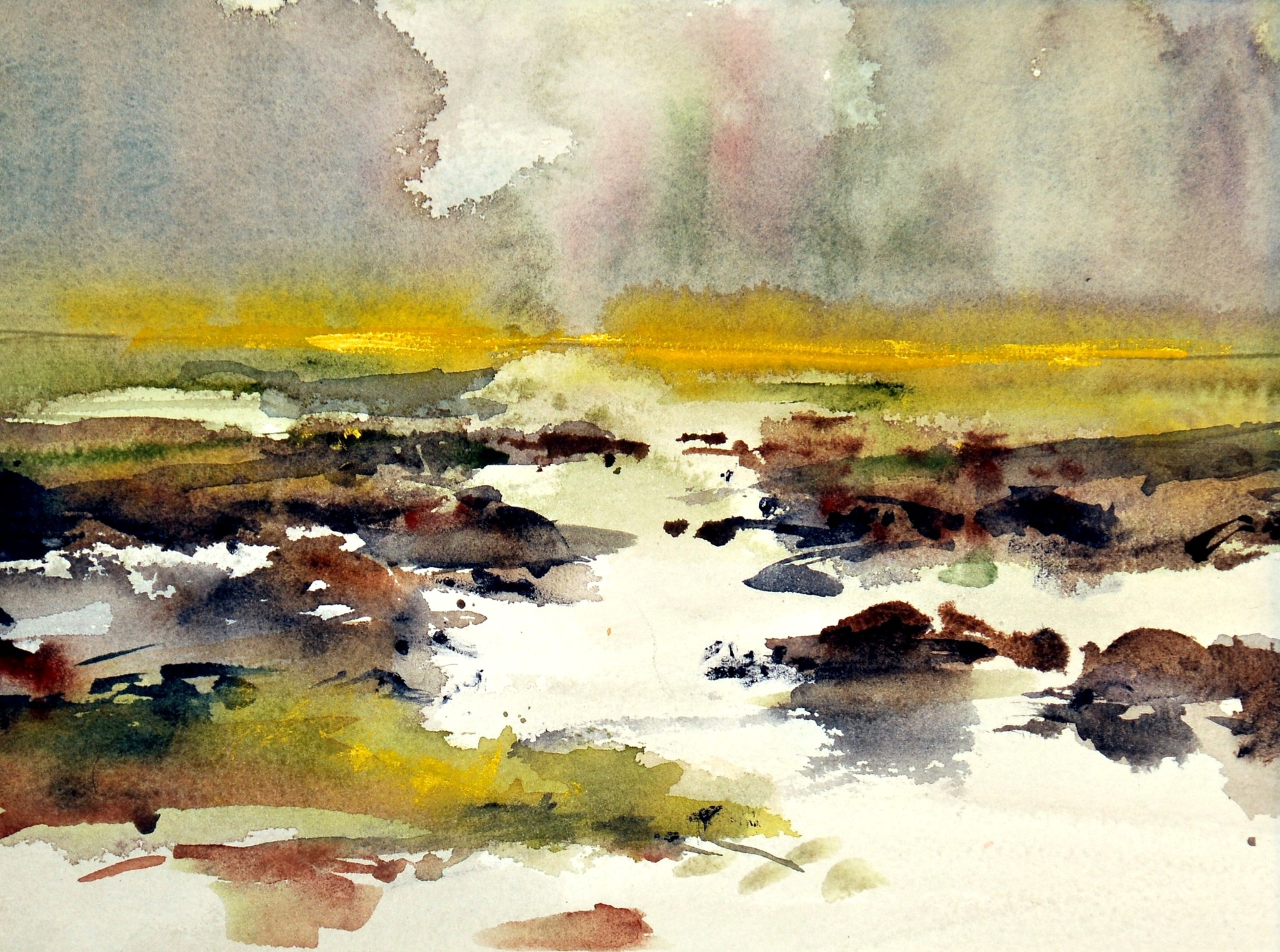 MacKechnie, Blind Slough, watercolor, 16x20.JPG