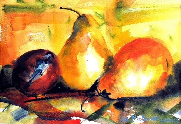 MacKechnie, still life study, ink and watercolor, 12x16_sm.jpg