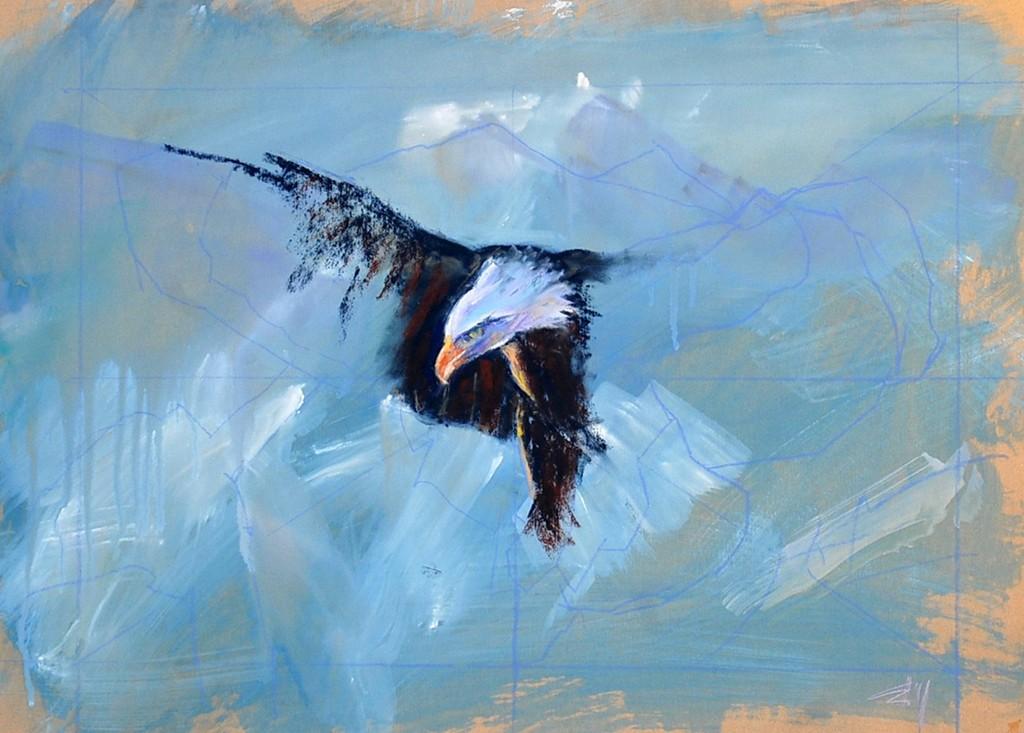 Pastel eagle 1.JPG