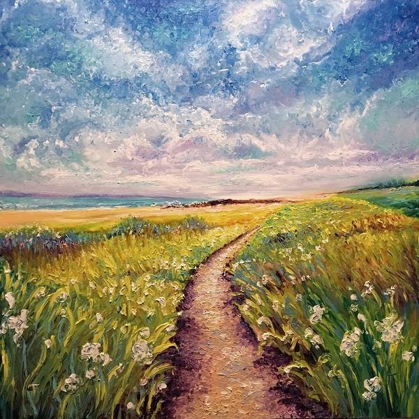Kimberly Adams_Seaside Pathway_oil_36 x 36_2795.jpg