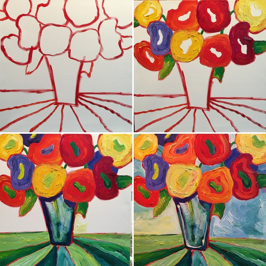 Color Theory 2 Sept 2019 - montage_med_floral process photos.jpg