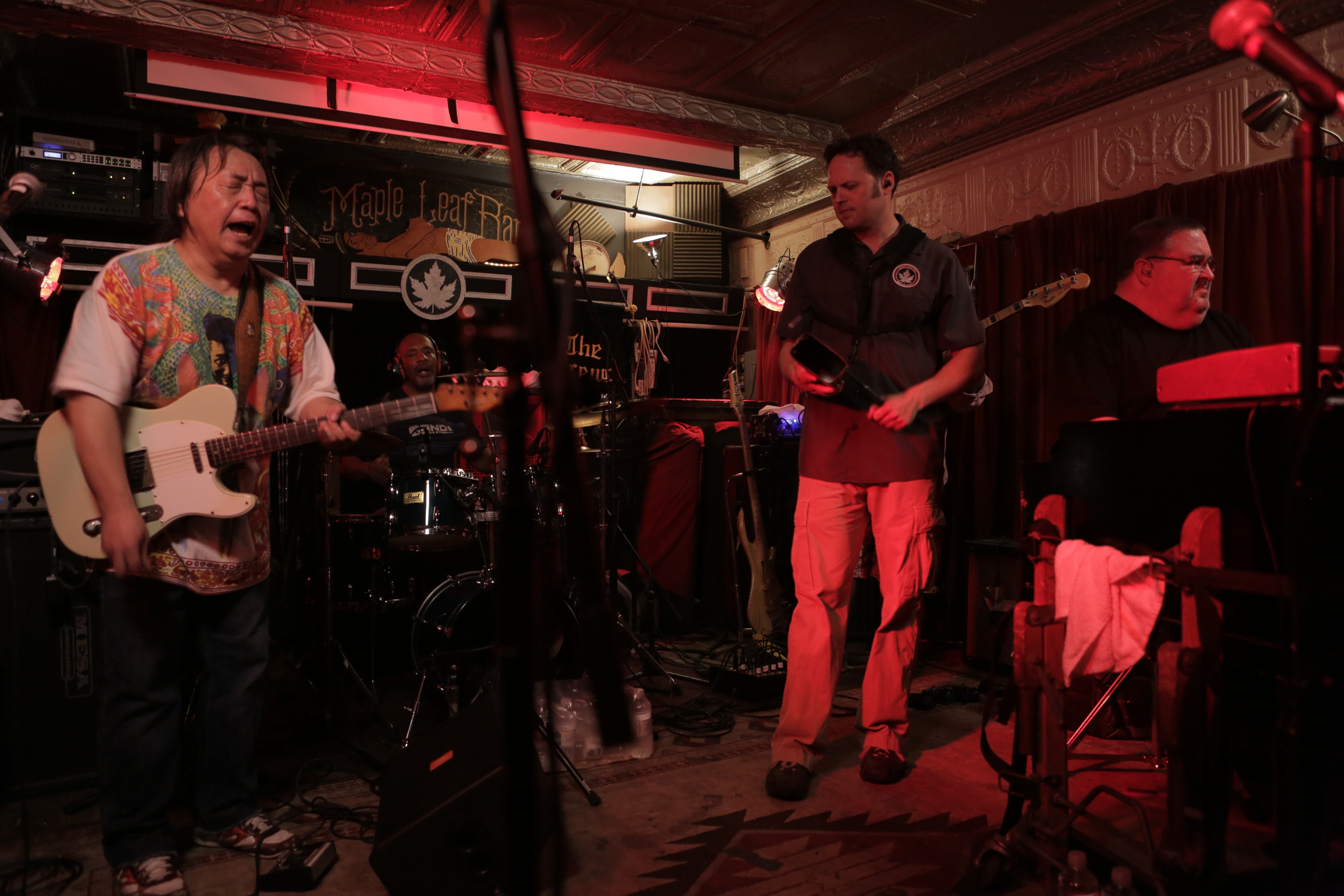 Papa Grows Funk at its final show at The Maple Leaf