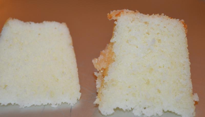CAKE A               CAKE B