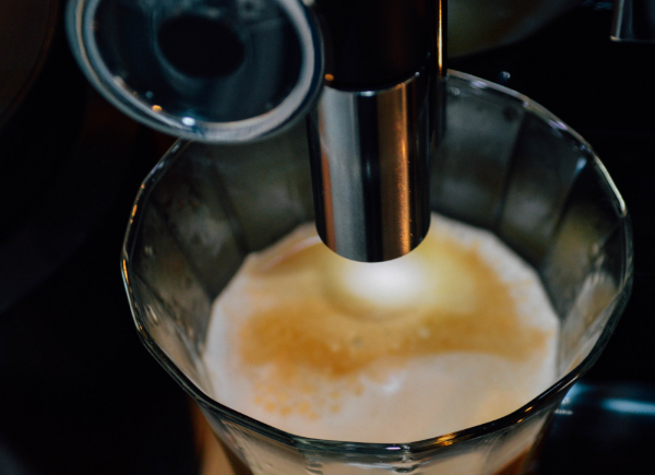 Because a Jura coffee maker is so precise and the Stauf's beans are so fresh, the crema on the top of every cup of coffee is very full. Many of our customers do not even have to add cream as they once did.