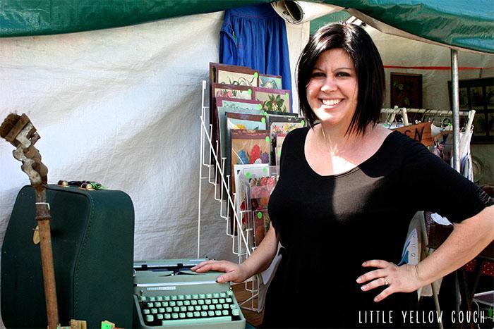 Karen and the Greek Typewriter