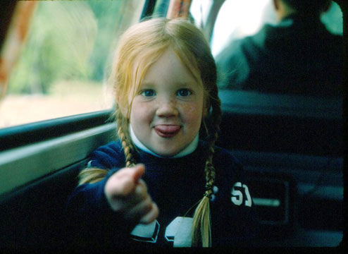 Heather as a Child