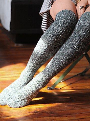 Cozy Sweater Tall Sock  via Free People