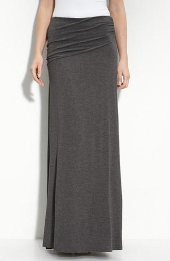 Asymmetric Knit Maxi Skirt  via Nordstrom
