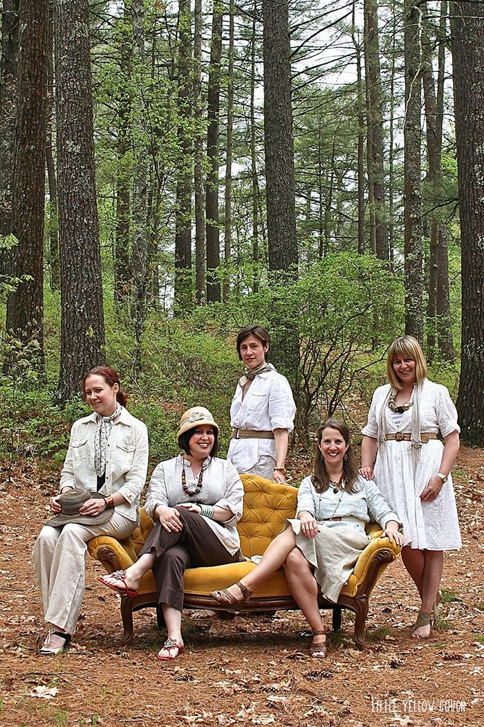 Left to Right, Standing: Laura, Sam. Sitting: Ellen, Karen June, Zandra
