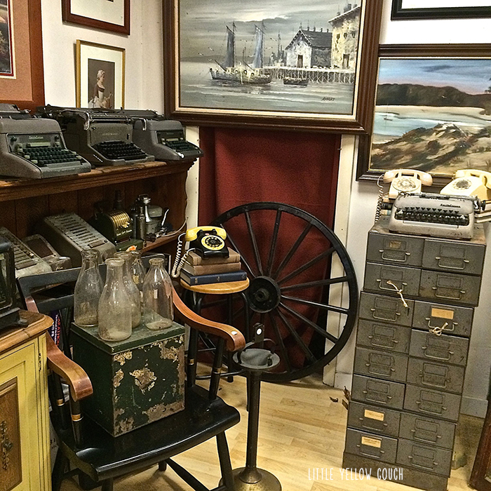 Antiquing in Plymouth, MA