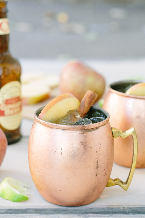 Photo provided by Sugar and Charm - Apple Cider Moscow Mule