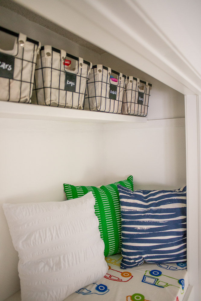 Photography provided by Bigger Than The Three of Us - Reading Nook
