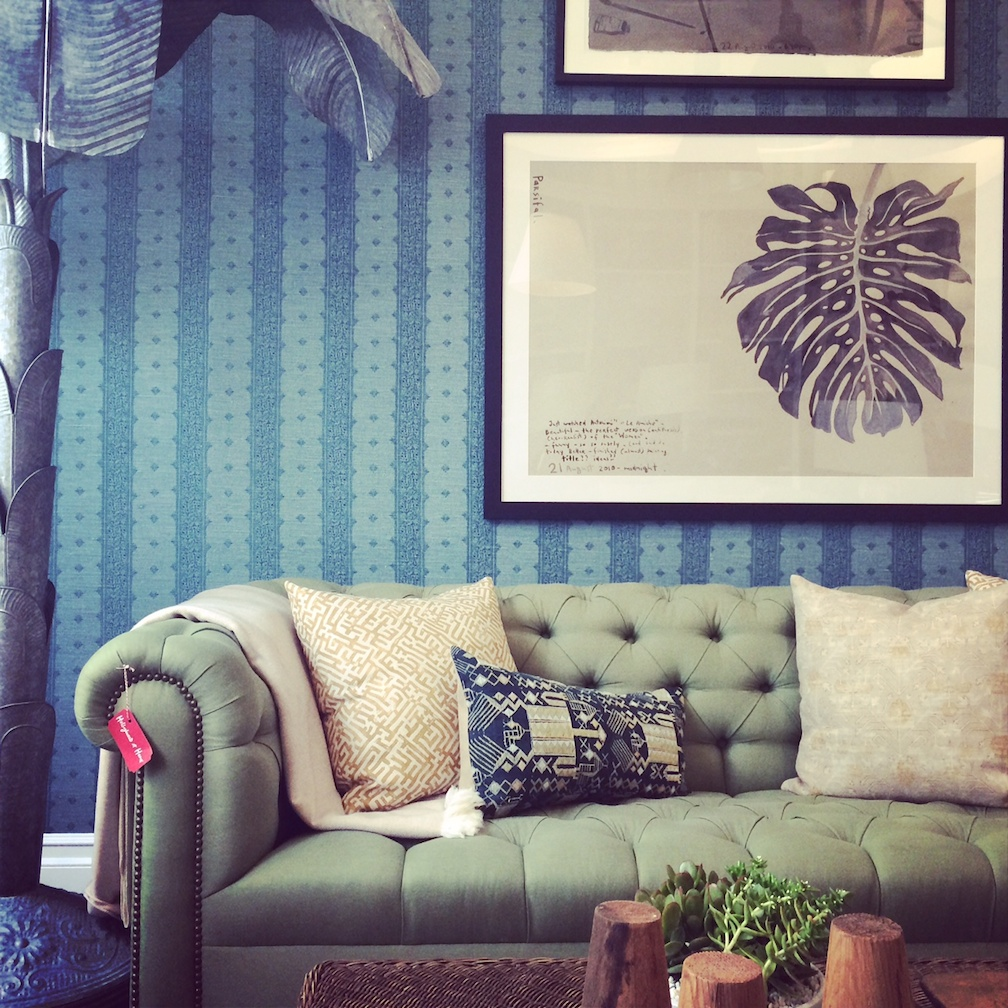 The design quarter along La Cienega in West Hollywood is Ellen's favorite shopping hub in the country. Finding inspiration all around her at Peter Dunham's Hollywood at Home shop - another Coastal Living trendsetter and amazing design talent.