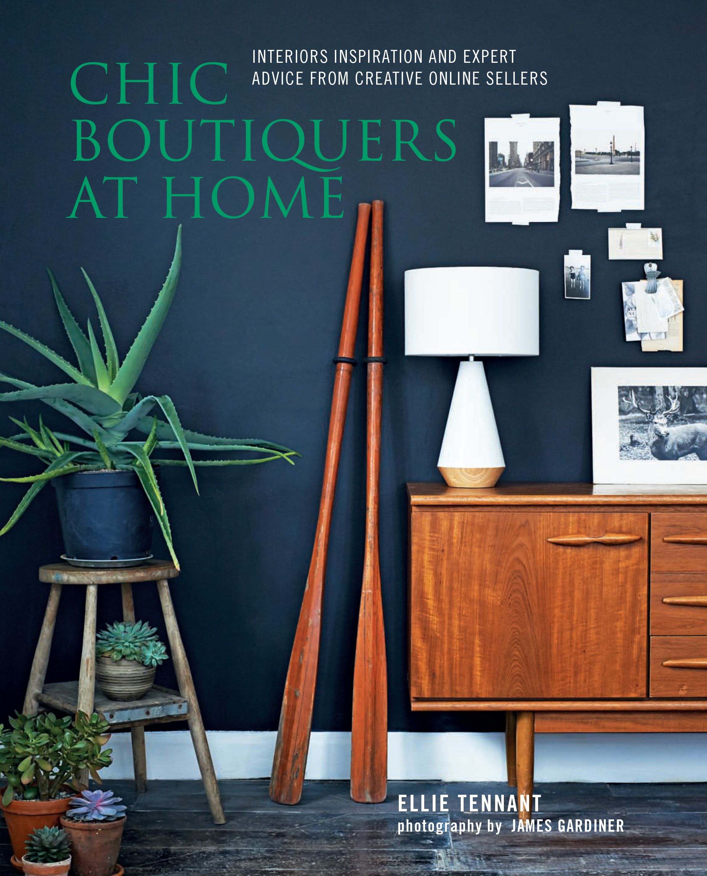 Chic Boutiquers at Home  by Ellie Tennant (RPS, £19.99) Photography by James Gardiner