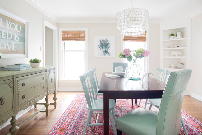 Images provided by Young House Love - Dining Room