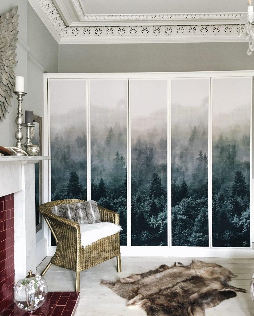 Photography provided by Fiona Cameron - IKEA Wardrobe DIY