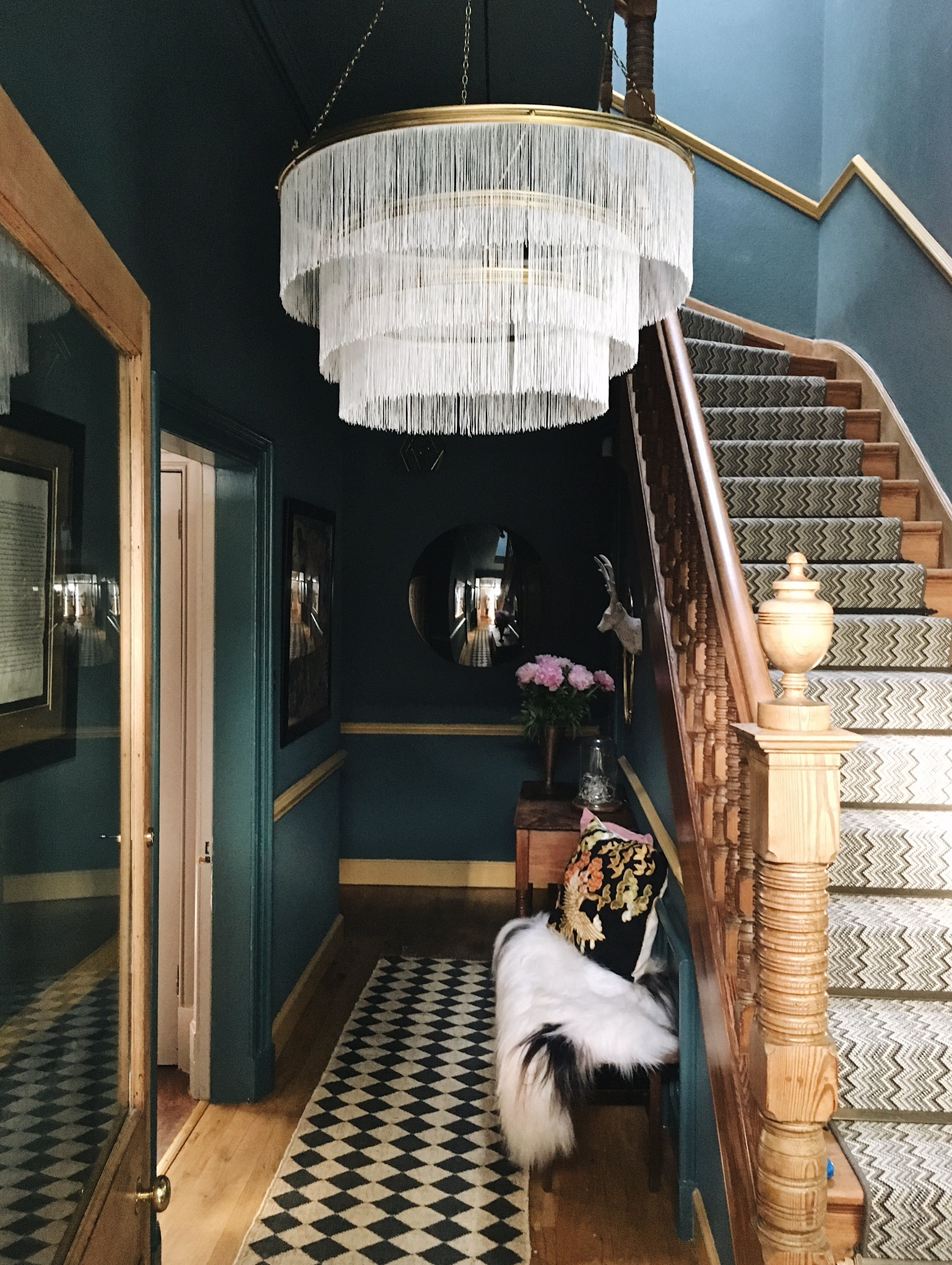 Photography provided by Fiona Cameron - Chandelier DIY