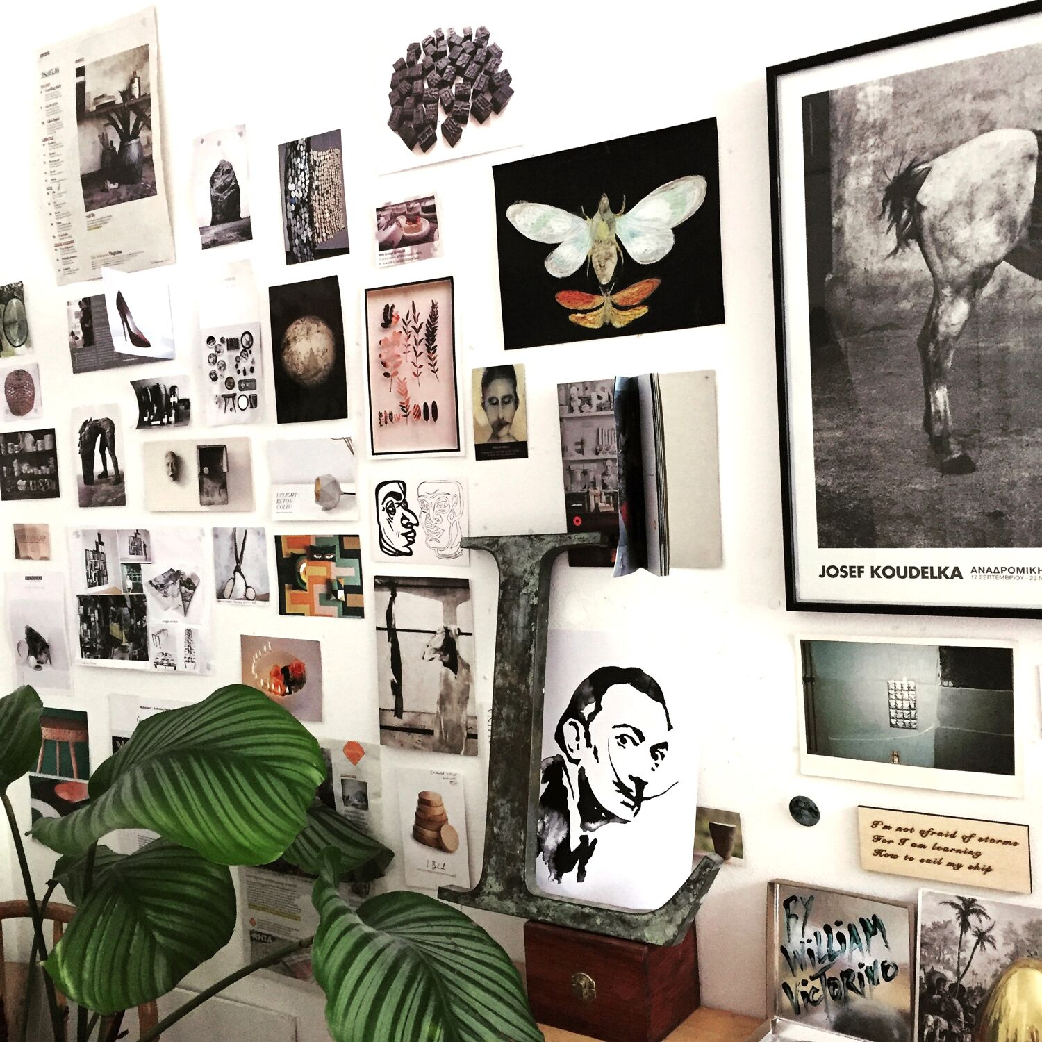 Inspiration Wall from Lorraine's Workspace