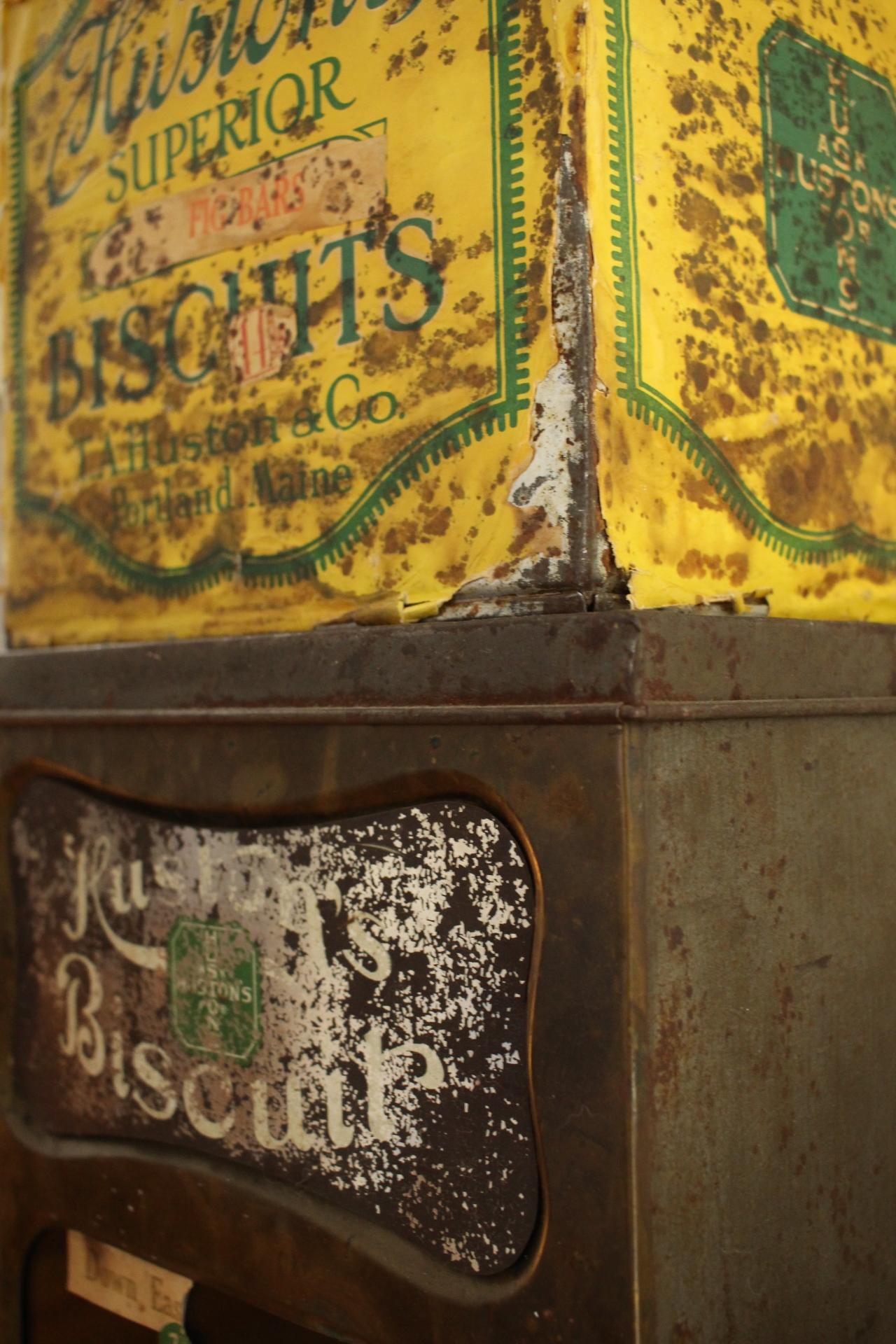 Zandra's Huston Biscuit Boxes