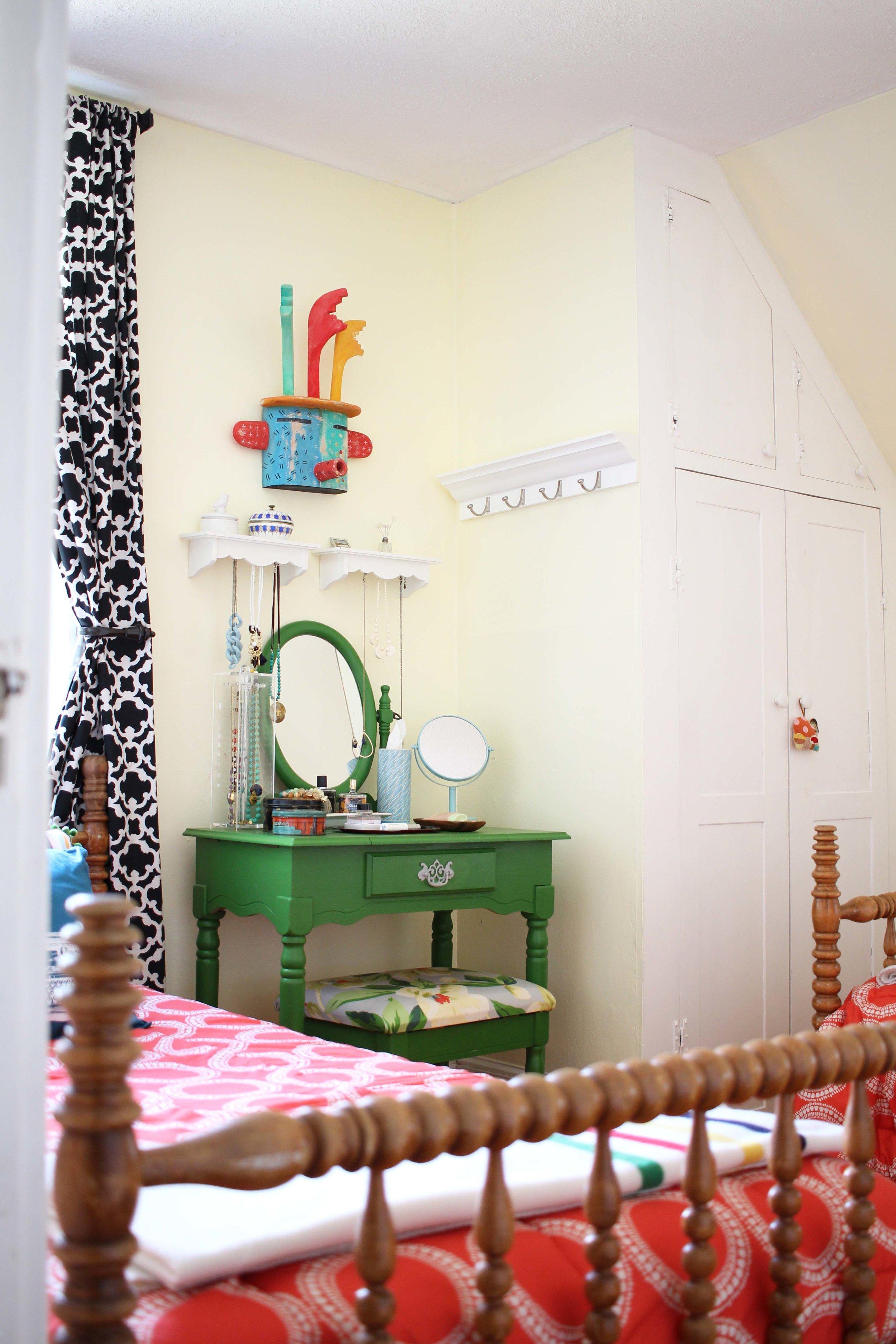 Zandra's Vanity & Dressing Room/Guest Room
