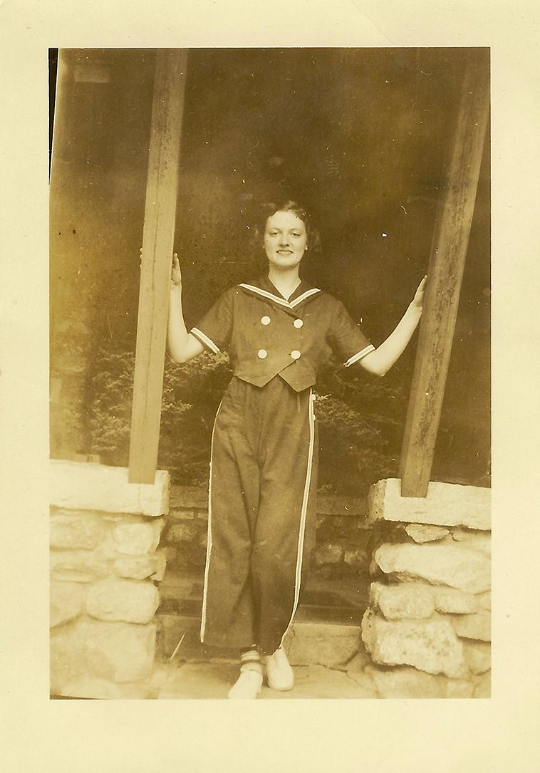 Karen's dear Gram at Lake Chocorua