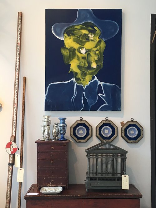 SEAN SCHERER Artist/Shop Owner: Kabinett & Kammer