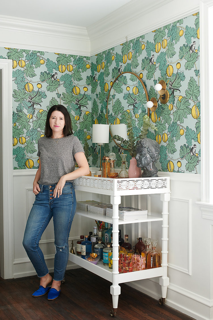 Cheap. Fast. Well done. (You can't have all three). - Philadelphia based interior designer, Michelle Gage, isn't afraid of color, pattern, or mixing things up. She's afraid of the trend toward expecting show-stopping design to be plopped down in your home without your commitment. If your home is going to actually care for you, you need give IT a little TLC. If you aren't one to swing a hammer yourself, that's fine! But if you're looking for a transformation, that might mean spending a lot all at once or it might mean buying really well made things over time.