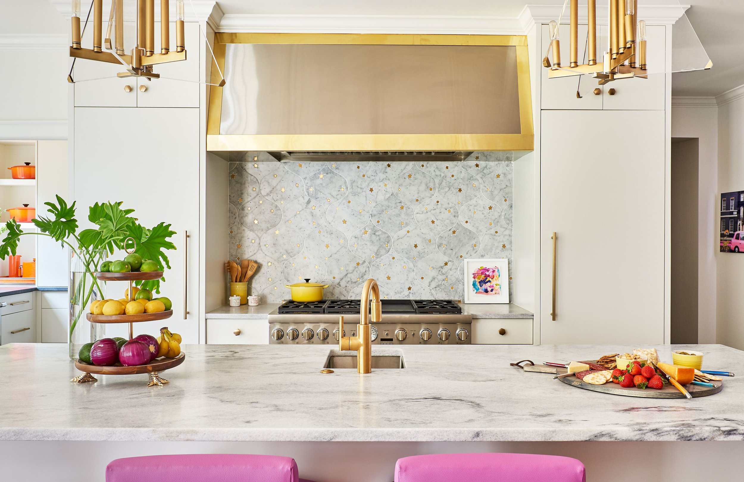 White Cherokee Marble, Holly Hollingsworth