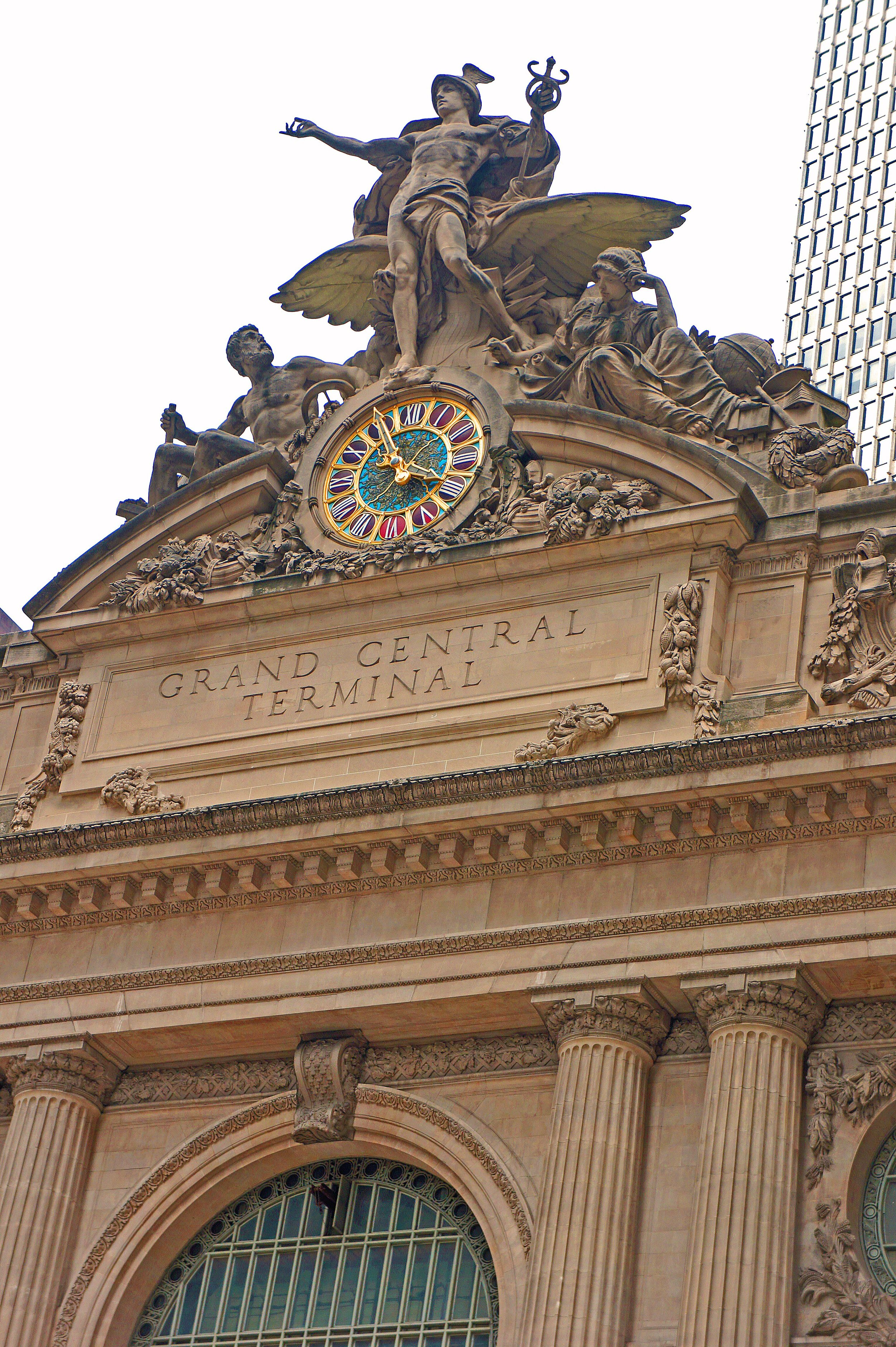 Indiana Limestone, Grand Central Terminal, NYC