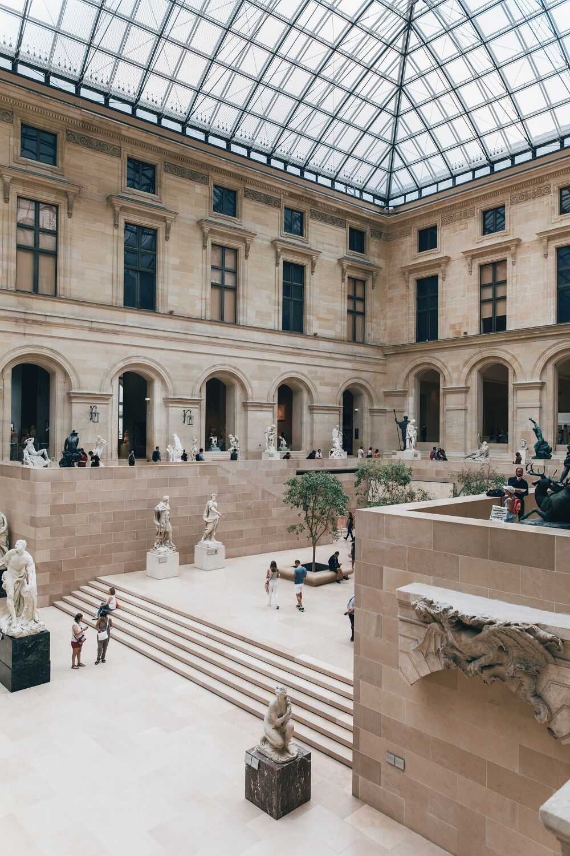 Chassagne Beige Clair: Musee du Louvre, Paris