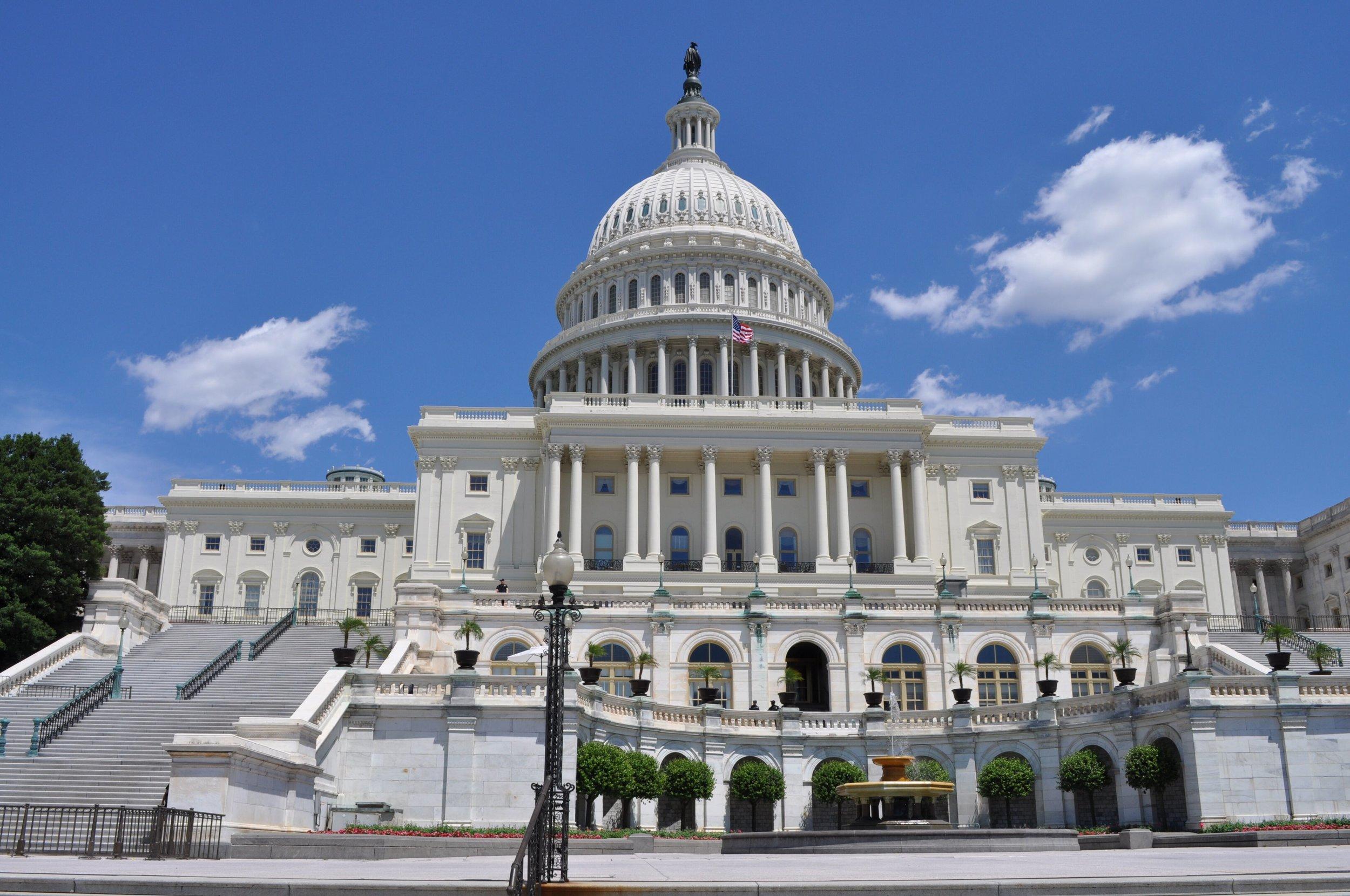 White Georgia Marble: US Capitol, DC