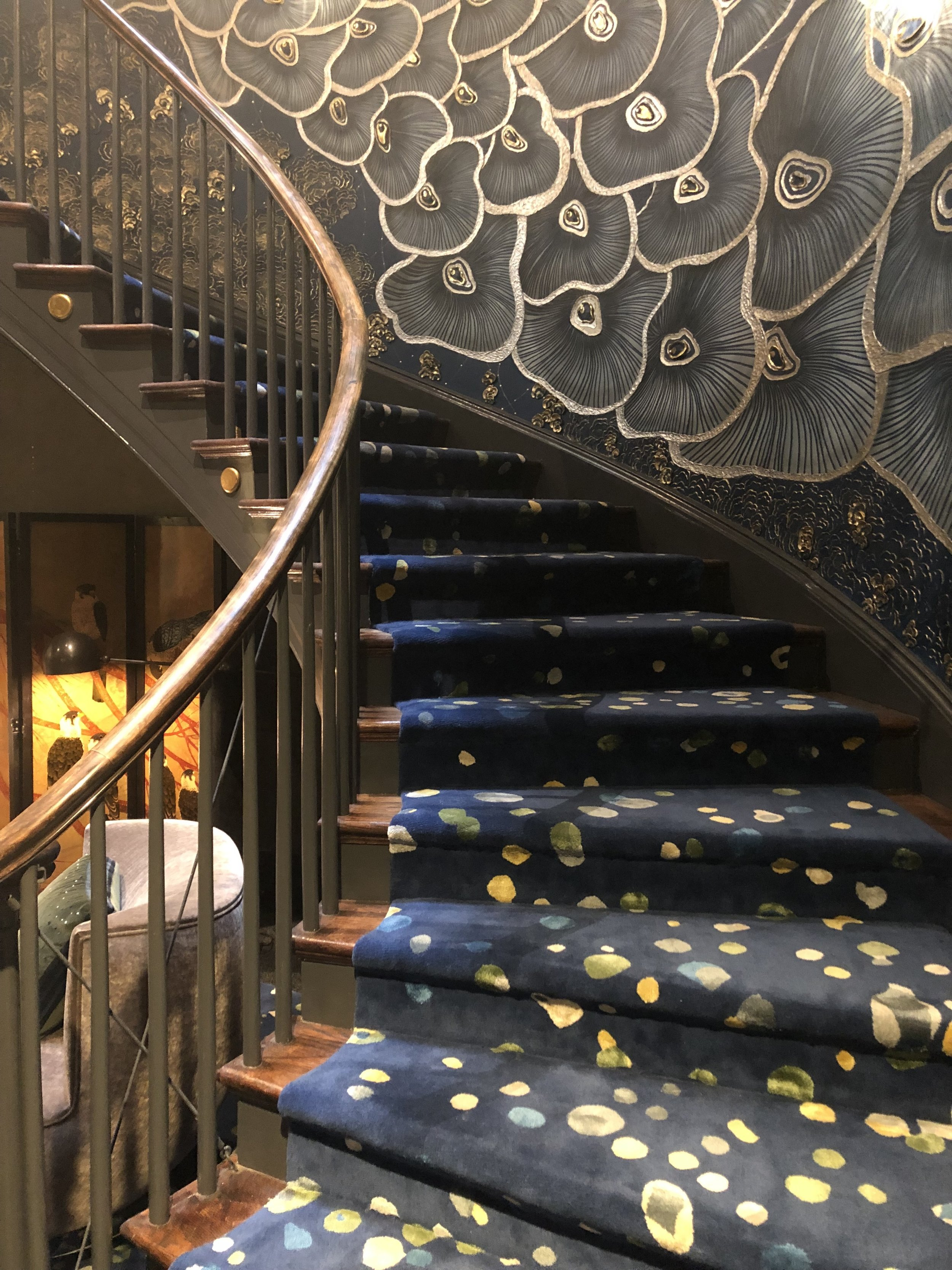 Entrance Staircase by Richard Rabel