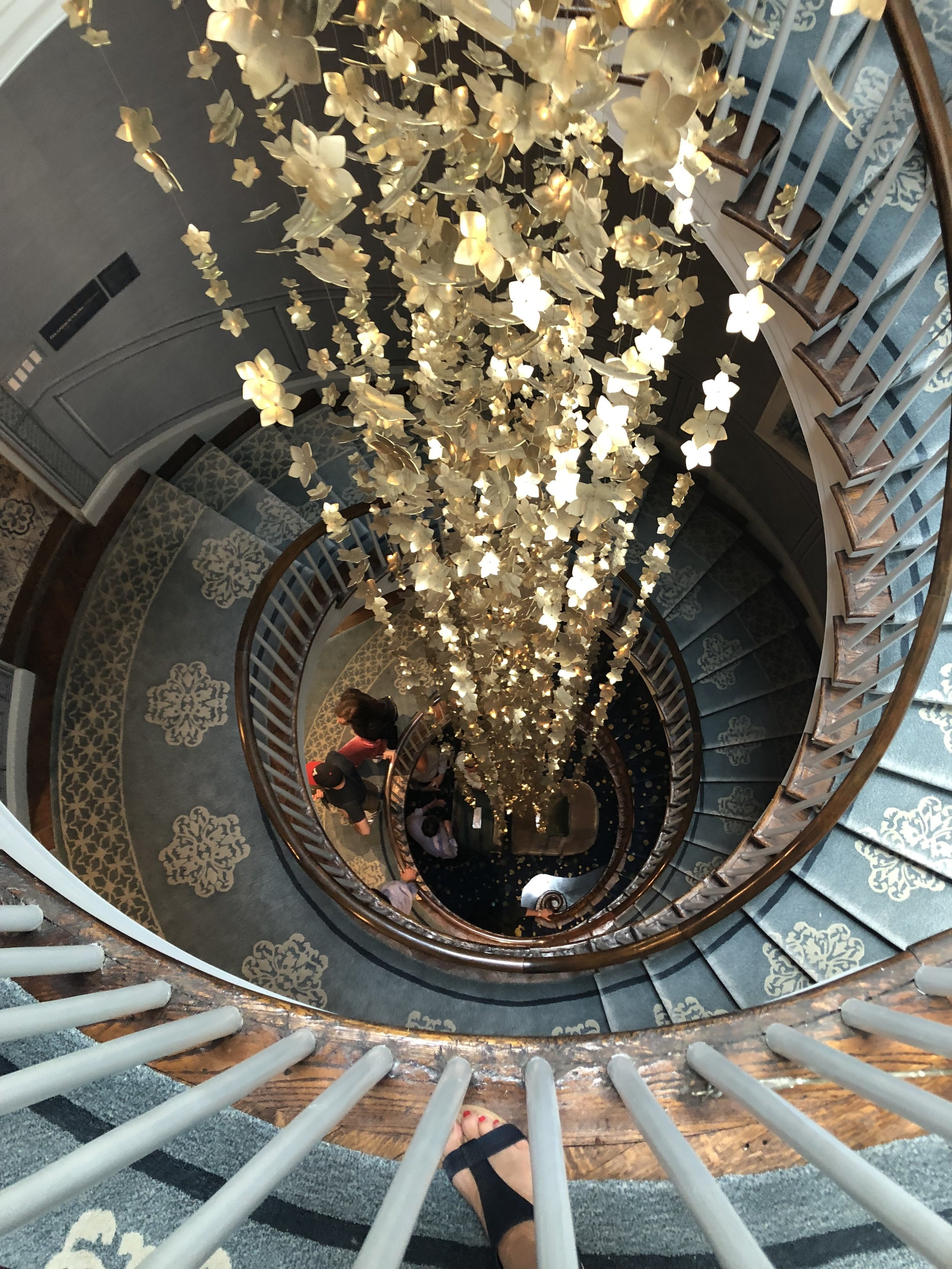 Upper Staircase by Brian Gluckstein