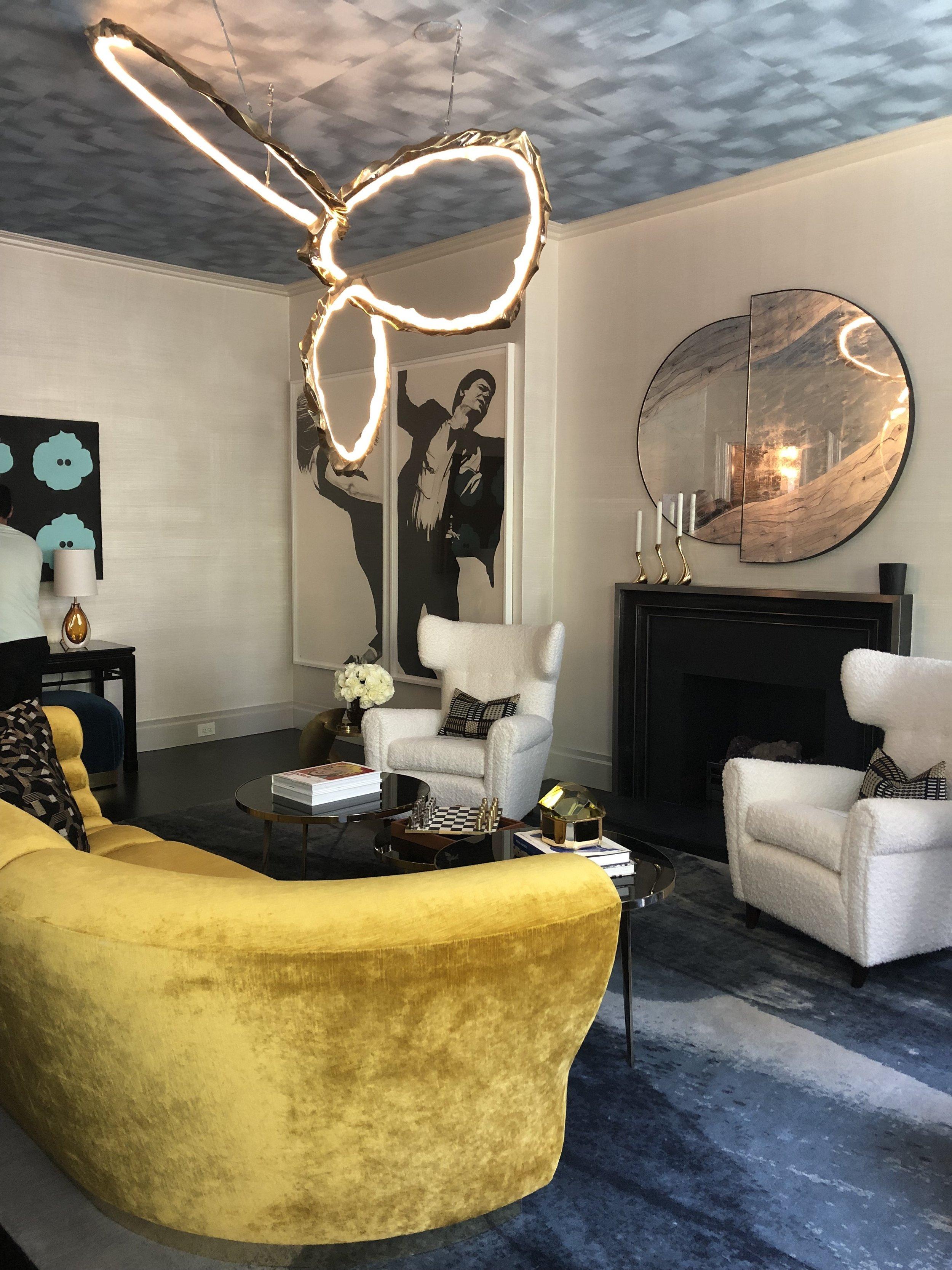 Living Room by Jennifer Cohler Mason